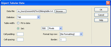 how to make table border thinner dreamweaver